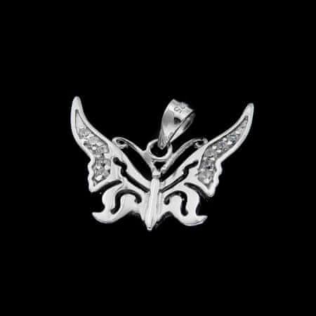 Amiatex Wisiorek srebrny 25038, UNIWERSALNY