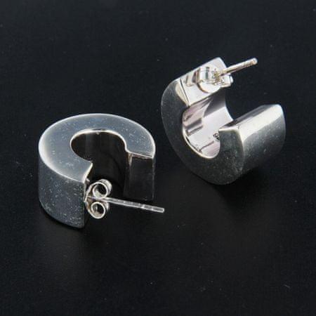Amiatex Ezüst fülbevaló 26127, 13 MM