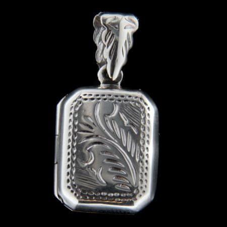 Amiatex Wisiorek srebrny 62940, UNIWERSALNY