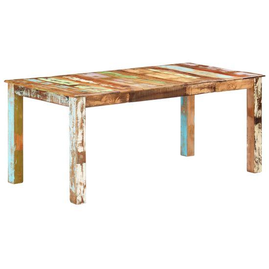 shumee Jídelní stůl masivní recyklované dřevo 180 x 90 x 76 cm