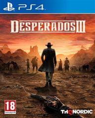 THQ Nordic Desperados III igra, (PS4)