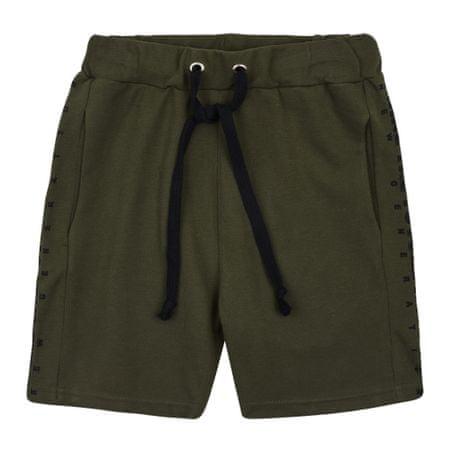Garnamama kratke hlače za dječake, tamno zelene, 146