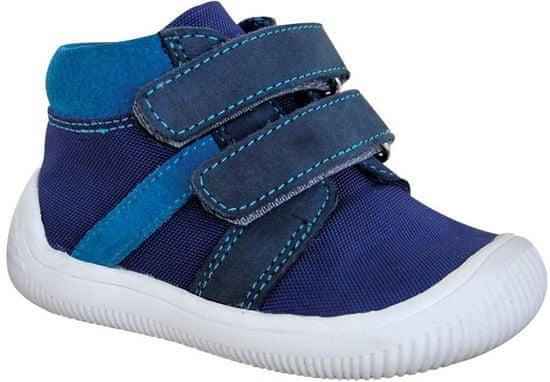 Protetika chlapčenská flexi barefoot obuv STEP NAVY 72021 19, modrá