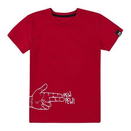 Garnamama majica za dječake, crvena, 134