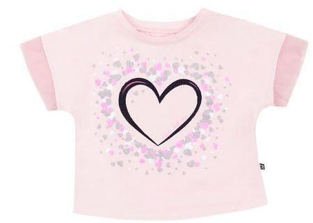 Garnamama dekliška majica, 110, roza