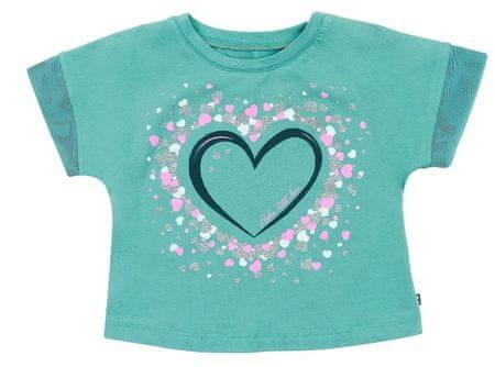 Garnamama koszulka dziewczęca 98 zielona