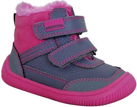 Protetika buty dziewczęce flexi barefoot TYREL FUXIA 72021 19, różowe