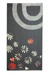 Desigual dámský černý šátek Foul Logo Love 20WAWA10