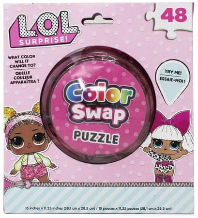 L.O.L. Surprise! puzzle zmieniające kolory