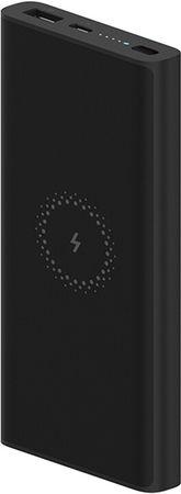Xiaomi Mi Essential prenosna baterija, 10 000 mAh, Qi brezžično polnjenje, črna
