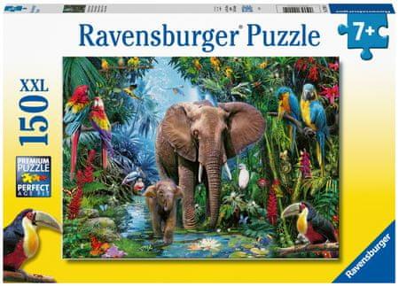 Ravensburger sestavljanka 129010 Živali iz safarija, 150-delna