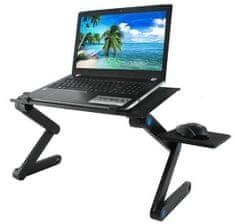 Skládací stolek pro notebook