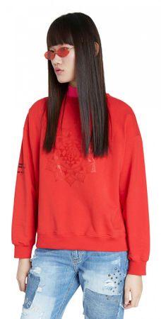 Desigual ženski pulover Sweat Malaui 20WWSK22, S, rdeč