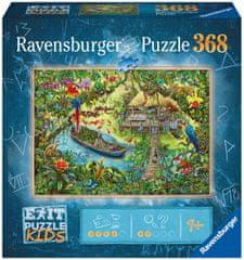 Ravensburger Puzzle 129249 Exit KIDS: Dzsungel 368 db