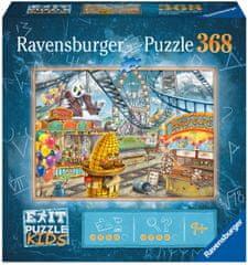 Ravensburger Puzzle 129263 Exit KIDS: Zábavný park 368 dielikov