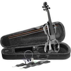Stagg EVN X-4/4 MBK, elektrické housle, černá metalíza