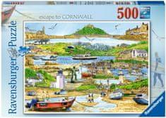 Ravensburger Puzzle 165742 Menekülés Cornwallbe 500 darab