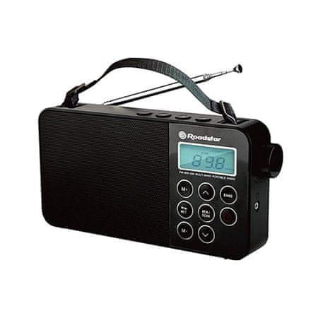 Roadstar Hordozható rádió, sokszínű, TRA-2340PSW