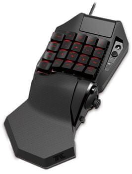 Hori Tactical Assault Commander Pre M2 set klávesnice a myši PS4 PS3 PC programovateľná hori device manager touchpad mechanické klávesy