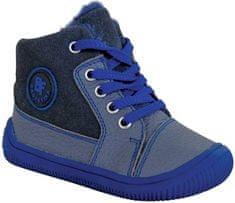 Protetika chlapčenská flexi barefoot obuv AMIS GREY 72021