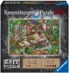 Ravensburger Puzzle 164837 Exit: Skleník 368 dielikov