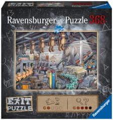 Ravensburger Puzzle 164844 Exit: Játékgyárban 368 darabos