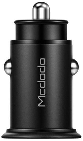 Mcdodo Mcdodo Speed Series PD + 5A Car Charger CC-6560, černý