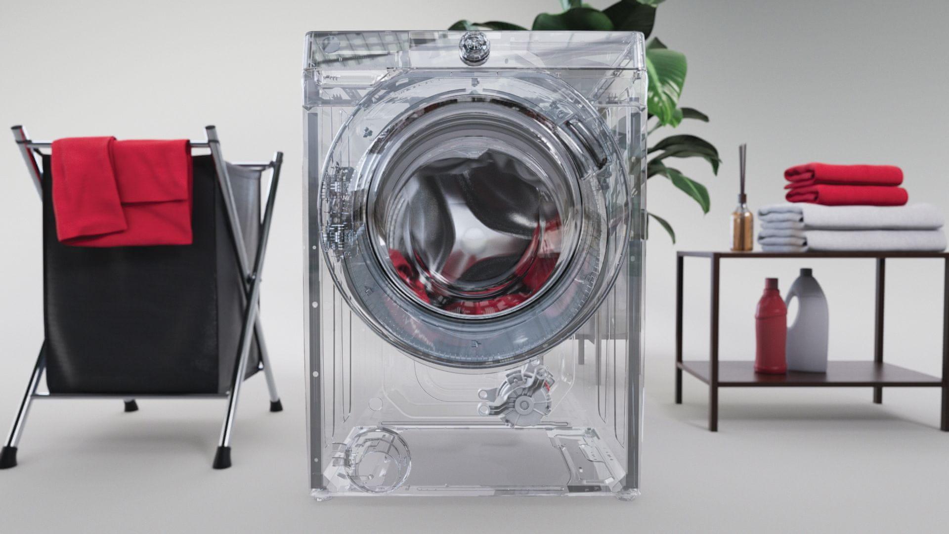 Hoover HWP 411AMBC/1-S nocne pranie