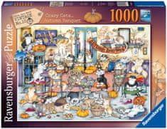 Ravensburger slagalica 165094 Sretne mačke, jesenski odmor, 1000 komada