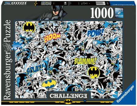 Ravensburger Batman kihívás 1000 darabos puzzle 165131