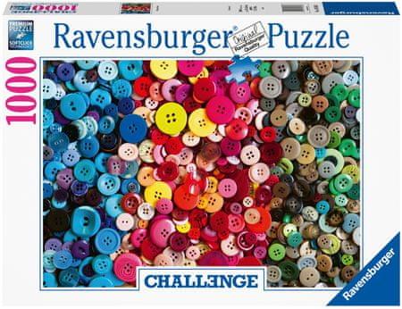 Ravensburger Gombok kihívás 1000 darabos puzzle 165636