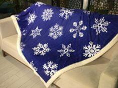 Denizli Concept Deka SNOW modrá (170x200 cm.)