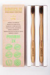 I LOVE ECO I Love Eco Bambusové zubní kartáčky Premium dvojité balení