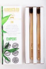 I LOVE ECO I Love Eco Bambusové zubní kartáčky Expert dvojité balení
