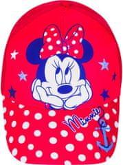 Cookie Dětská kšiltovka Minnie Mouse červená