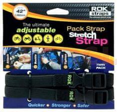 Oxford popruhy ROK straps MD nastavitelné, OXFORD (černá, šířka 16 mm, pár) ROK314