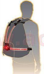 Oxford světelný pás Commuter X4 s LED světlem pro aktivní ochranu, OXFORD (na tělo nebo na batoh) LD720