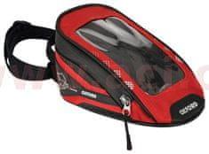 Oxford tankbag na motocykl M1R Micro, OXFORD (černý/červený, objem 1 l) OL352