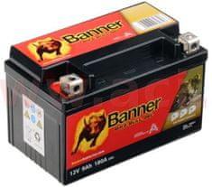 Banner baterie gelová 12V, GTZ10-4, 9Ah, 180A, BANNER Bike Bull GEL 150x86x94 GEL 509 01