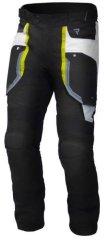 Rebelhorn Moto kalhoty REBELHORN BORG černo/šedo/fluo žlutá (Velikost: 3XL) 2H919662