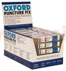 Oxford 10-ti dílná opravná sada pro cyklo pneu, mopedy a malé moto, OXFORD (obchodní balení 25 sad) CK101B