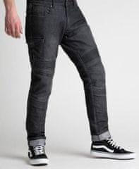 Rebelhorn Moto kalhoty BROGER OHIO jeans washed black (Velikost: 34) 2H024338