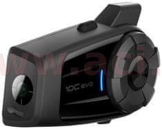 Sena Bluetooth handsfree headset 10C EVO s integrovanou 4K kamerou (dosah 1,6 km), SENA 10C-EVO-01