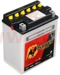 Banner baterie 12V, YB14-A2, 14Ah, 185A, BANNER Bike Bull 134x89x166 51412
