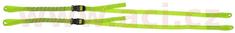 Oxford popruhy ROK straps LD Commuter nastavitelné, OXFORD (reflexní zelená, šířka 12 mm, pár) ROK330