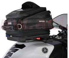 Oxford tankbag na motocykl Q15R QR, OXFORD (černý, s rychloupínacím systémem na víčka nádrže, objem 15 l) OL216