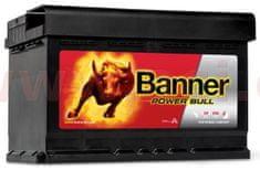 Banner 74Ah baterie, 680A, pravá BANNER Power Bull 278x175x190 P7412