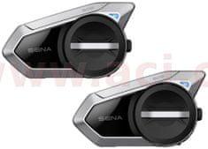 Sena Bluetooth handsfree headset 50S (dosah 2 km), SENA (sada 2 jednotek) 50S-01D