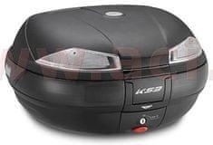 Kappa MONOKEY TopCase, KAPPA (53L, černý nelakovaný + kouřová odrazka) K53N