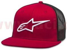 Alpinestars kšiltovka CORP TRUCKER, ALPINESTARS (červená/černá) 1025-81003-3010-OS